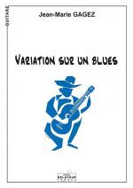 Variation sur un blues Sheet Music