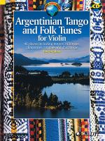 Argentinian Tango and Folk Tunes for Violin Sheet Music