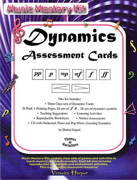 Dynamics Assessment Cards Sheet Music