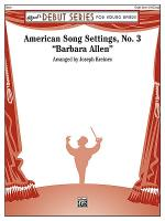 American Song Settings, No. 3 Sheet Music