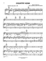 Country Honk Sheet Music