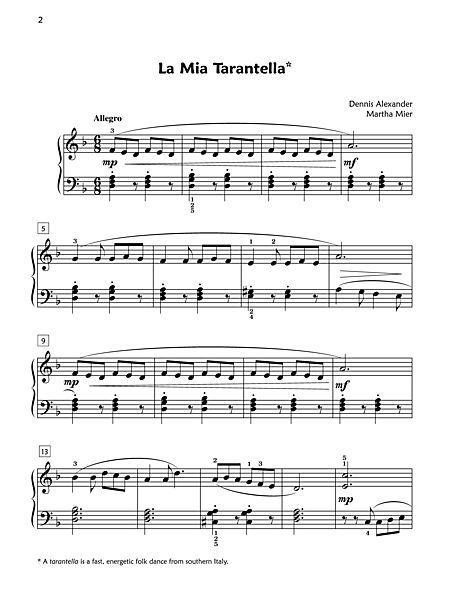 La Mia Tarantella Sheet Music