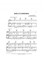 Baby, It's Christmas Sheet Music