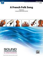 A French Folk Song Sheet Music