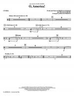 O, America - Cymbals Sheet Music