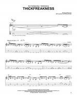 Thickfreakness Sheet Music
