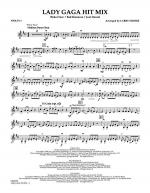 Lady GaGa Hit Mix - Violin 1 Sheet Music