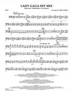 Lady GaGa Hit Mix - Bass Sheet Music