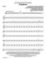 Telephone - Drums Sheet Music