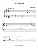 Tangy Tango Sheet Music