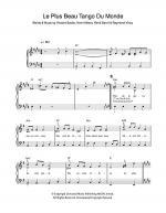 Le Plus Beau Tango Du Monde Sheet Music