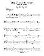 Blue Moon Of Kentucky Sheet Music