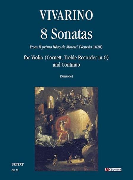 8 Sonatas from Il primo libro de Motetti (Venezia 1620) Sheet Music