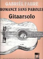 Romances sans paroles Sheet Music