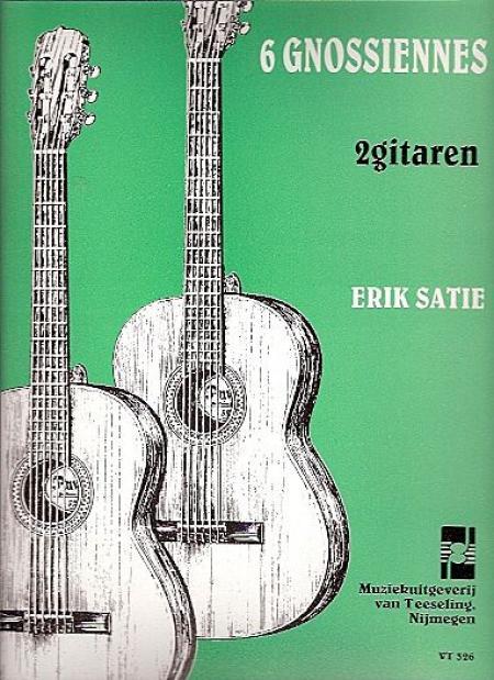 6 Gnossienes (gitaarduo) Sheet Music