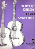 It Ain't but Somebody Sheet Music
