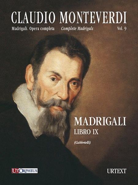 Madrigali. Libro IX (Venezia 1651) Sheet Music