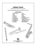 Jubilant Carols Sheet Music