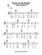 Home On The Range Sheet Music