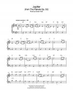 Jupiter (from The Planets Op. 32) Sheet Music