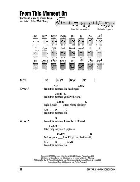 From This Moment On Sheet Music