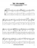 Voi, Che Sapete Sheet Music