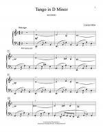 Tango In D Minor Sheet Music