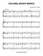 Colonel Bogey March Sheet Music