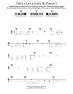 Ooh La La La (Let's Go Dancin') Sheet Music