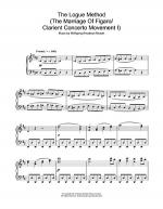 The Logue Method (The Marriage Of Figaro / Clarient Concerto Movement I) Sheet Music
