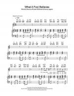 What A Fool Believes Sheet Music