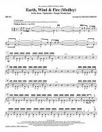 Earth, Wind & Fire (Medley) - Drums Sheet Music