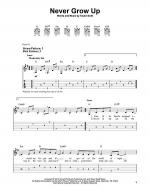 Never Grow Up Sheet Music