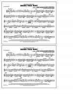 Born This Way - Bb Tenor Sax Sheet Music