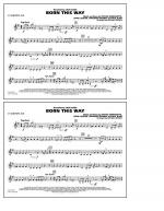 Born This Way - Eb Baritone Sax Sheet Music
