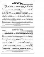 Born This Way - Snare Drum Sheet Music