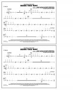Born This Way - Cymbals Sheet Music