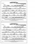 Born This Way - Quad Toms Sheet Music