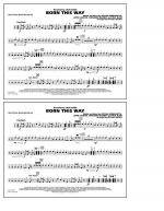 Born This Way - Multiple Bass Drums Sheet Music