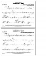 Born This Way - Aux Percussion Sheet Music