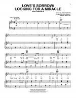 Love's Sorrow/Looking For A Miracle Sheet Music