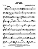 Evil Ways - Alto Sax 1 Sheet Music