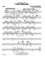I Have Dreamed - Drums Sheet Music
