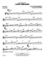I Have Dreamed - Eb Solo Sheet Sheet Music