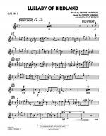 Lullaby Of Birdland - Alto Sax 1 Sheet Music