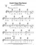 Could I Have This Dance Sheet Music