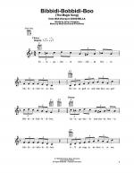 Bibbidi-Bobbidi-Boo (The Magic Song) Sheet Music