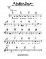 Chim Chim Cher-ee Sheet Music