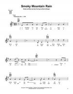 Smoky Mountain Rain Sheet Music