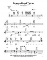 Sesame Street Theme Sheet Music